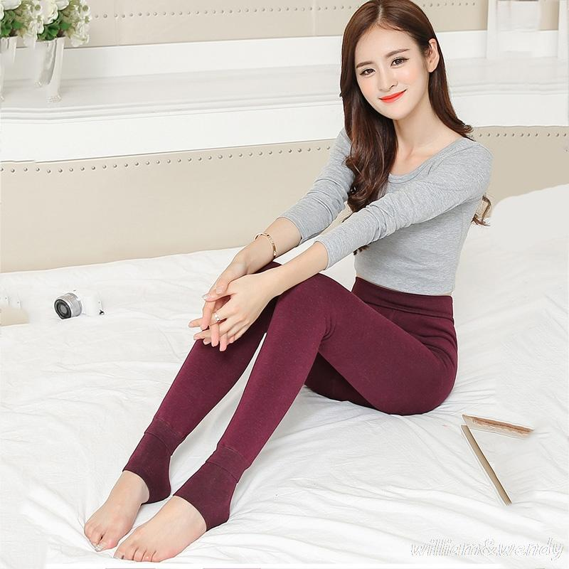 dc2b29a2a510 2019 Women Thermal Winter Thermo Thick Clothing Tracksuit Layered Warm  Ukraine Feminine Long Legging Velvet Fleece Push Up Underpants From Tuhua