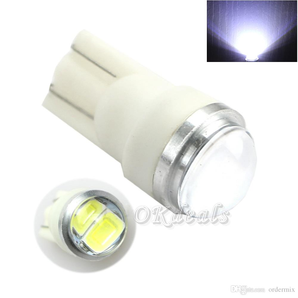 New Hot T10 194 168 W5W 5630 SMD 2 LED Car Wedge Signal Light Lamp White DC 12V Super Bright