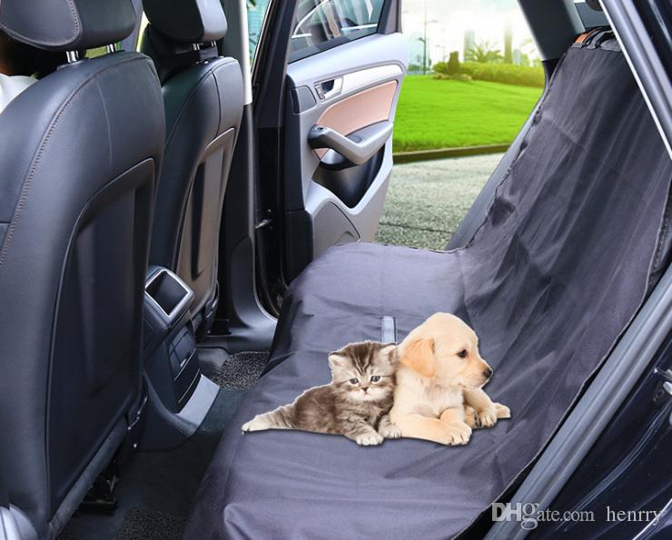 Car Pet Pads Back Seat Covers For Dogs Cats Wear Resisting Waterproof Prevent Scratching Protect Seats Unique Automotive Accessories Vehicle
