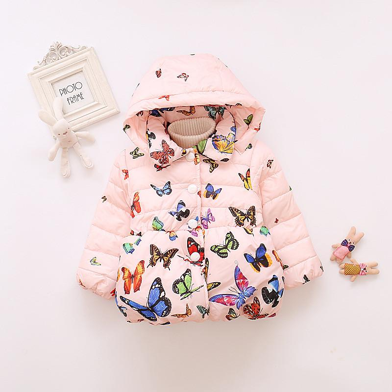 575ab5cd5 Winter Girls Jackets Children Clothing Warm Down Parkas For Girls ...