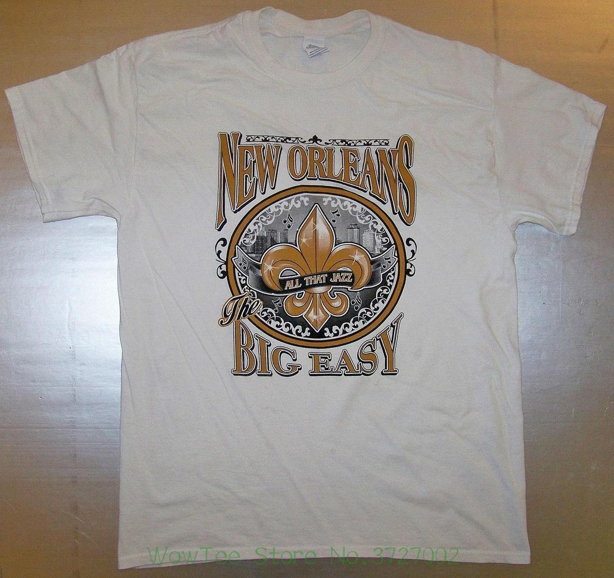 1ea1a16bf83e7 Camiseta Blanca Vintage Talla L Hombres Camiseta 100% Algodón Estampado A   12.79 Del Pxue3201