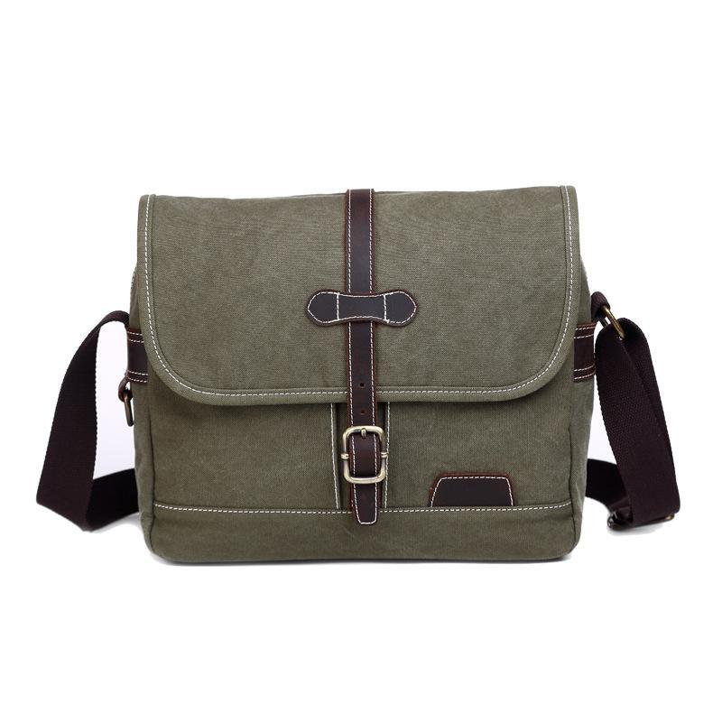 f44cdefd3f New Arrival Canvas Men S Crossbody Bag Men Army Green Vintage Messenger Bags  Large Capacity Casual Simple Retro Shoulder Bags Cute Purses Crossbody From  ...