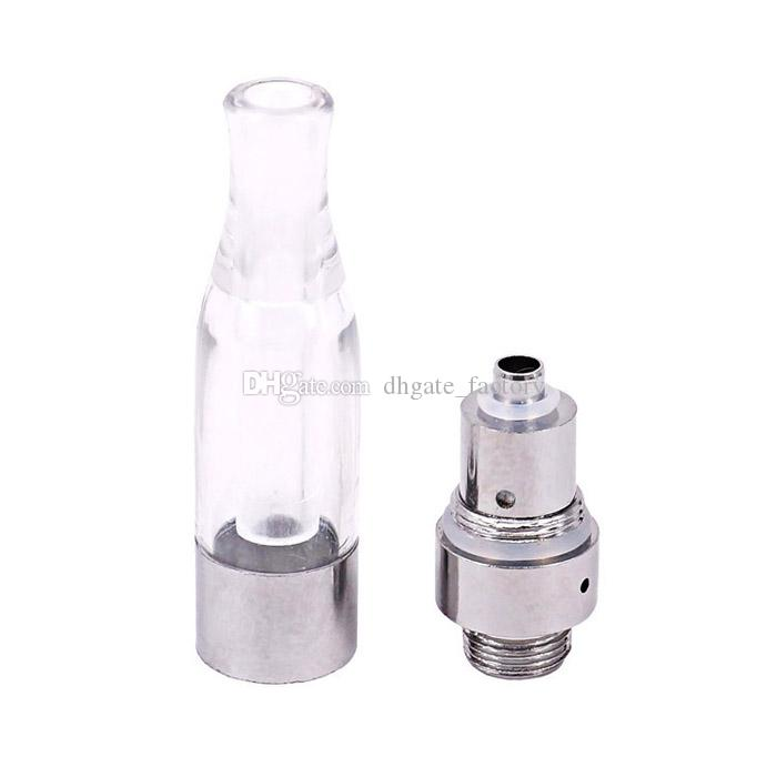 G7 Cartridges Tank Atomizers Clear Plastic Dual Coils WAX Vaporizer BUD Touch O Pen 510 Thread e Cigarettes Clearamizer Vapor Free Ship