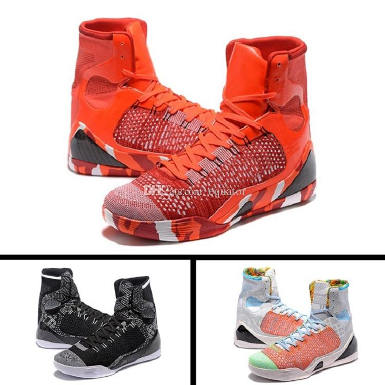 2018 new kb 9 the kobe x elite high basketball shoes mens athletic mens kb10 sneaker shoes high weaving bhm easter christmas basketball shoe kb 9 basketball