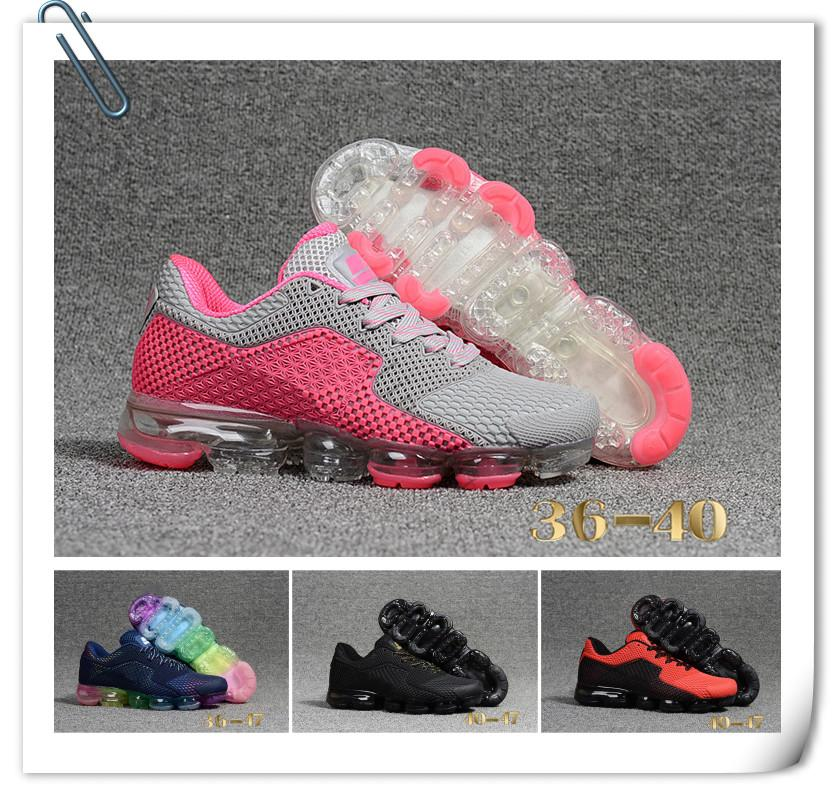 Wholesale Vapormax 2018 Men Women Running Shoes Athletic Sport Men Sneakers Hot Corss Hiking Jogging Size 97 36-47 low shipping online cheap sale cheapest price lLW4r