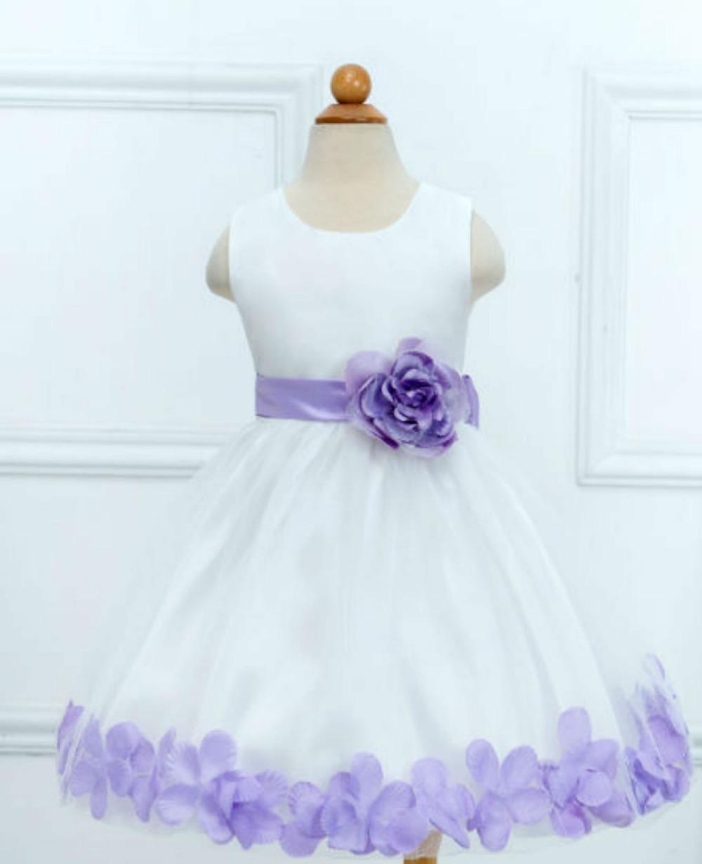 Hot Sell Girl Dresses Children Dress Party Summer Princess Baby Girl Wedding Dress Birthday New Big Bow Design
