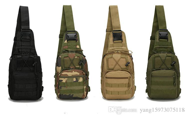 Outlife Hotsale 9 Farbe 600D Militärische Taktische Rucksack Schulter Camping Wandern Camouflage Tasche Jagd Rucksack Dienstprogramm