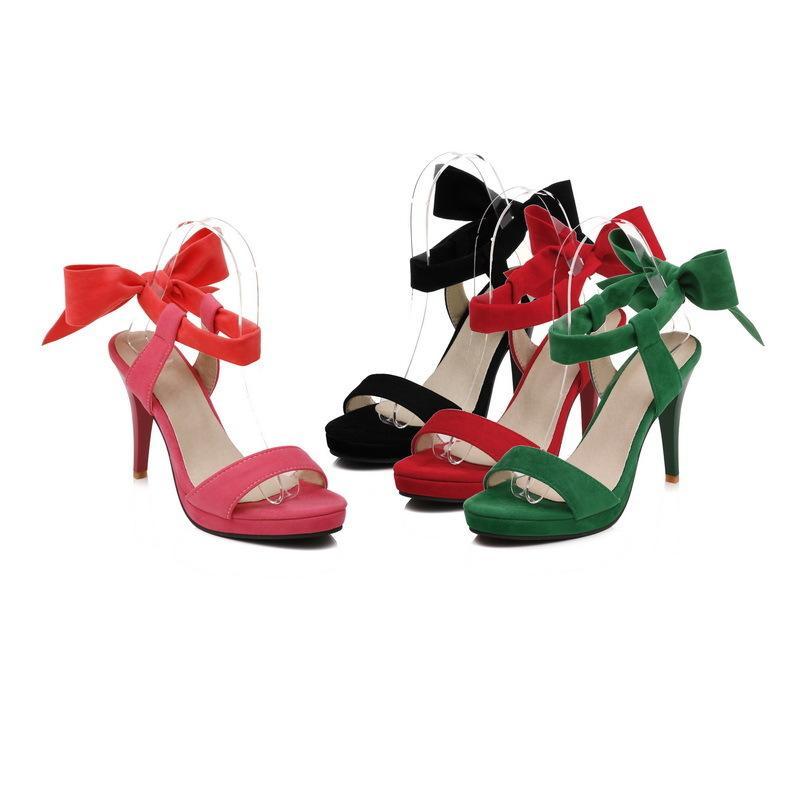 057ad58e859 High Heel Beautiful Sandals Summer Fashion New Pattern 31 43 Code Women'S  Black Red Green Pink Fine Heel Shoes 10cm Heel Time Limited Sandels Sparx  Sandals ...