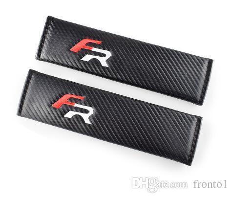 Auto Car-Styling Voiture Emblèmes Logo Cas Pour Seat Leon 2 FR + Ibiza Cupra Altea Courroie Racing Autocollants Accessoires De Voiture Style