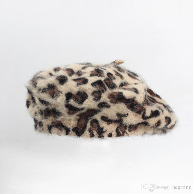 Compre Invierno Otoño Primavera Sombreros Para Mujeres Sombrero Boinas  Gorros Sombreros De Piel Para Mujeres Gorro Femenino Gorra A  18.11 Del  Hearting ... 1204236a272