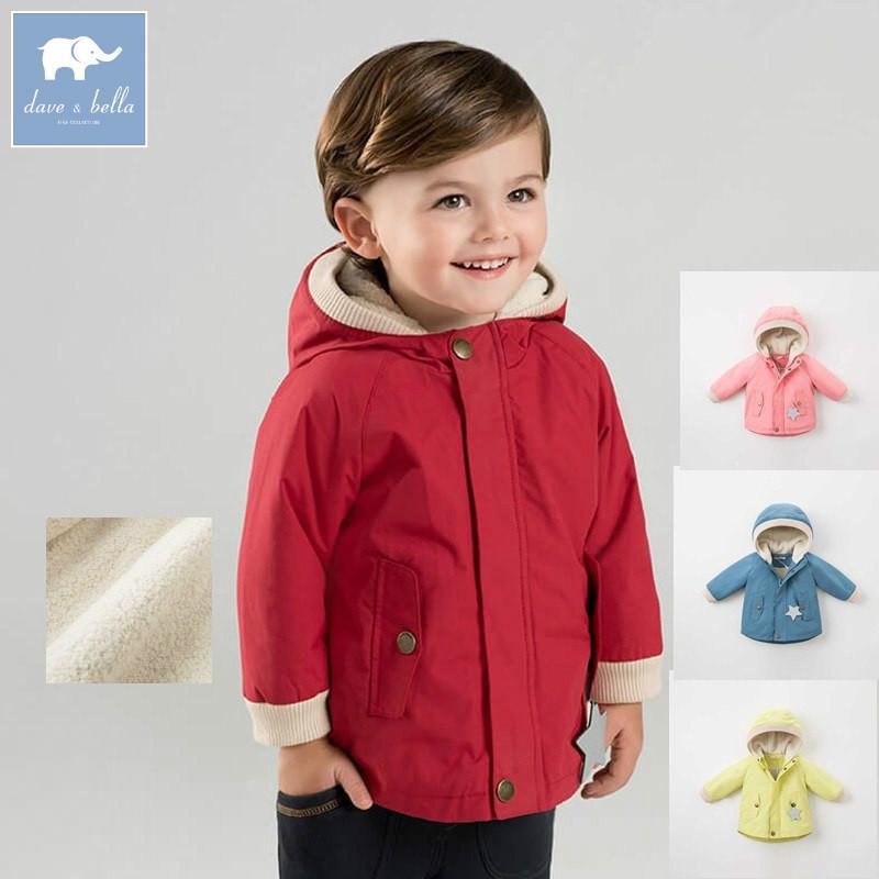 a1cb242bb258 DB8886 Dave Bella Autumn Infant Toddler Baby Boys Fashion Hooded ...