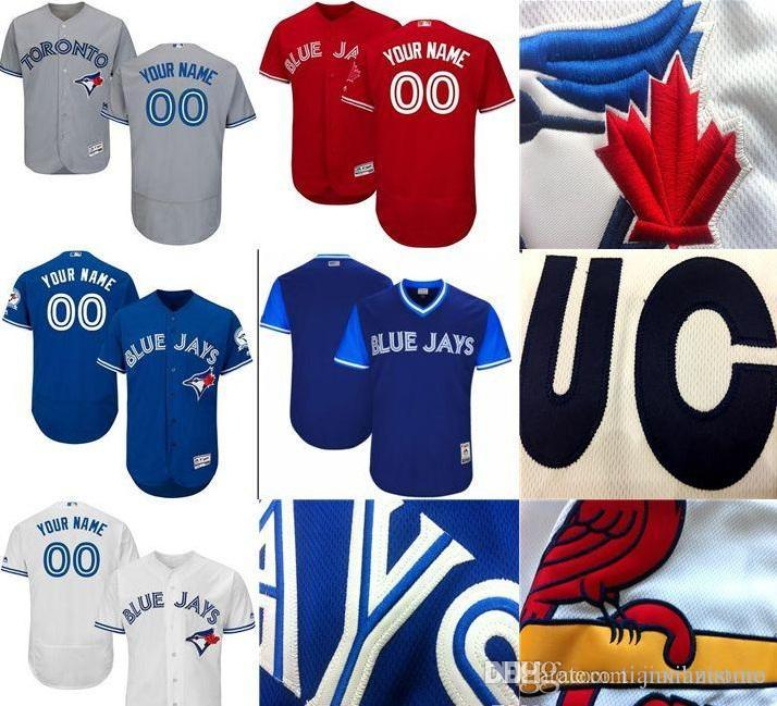 2019 CUSTOM To Blue Jays Mens Women Youth KIDS Customized Majestic ... e55700028