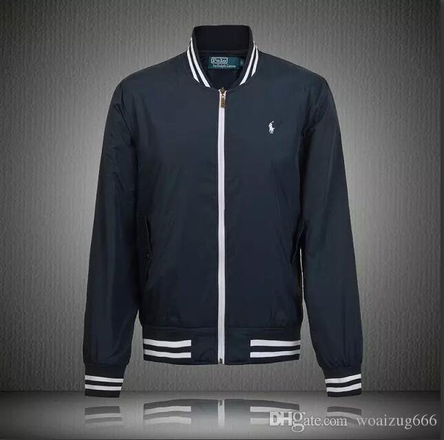 Men Women Sportswear Jackets Brands Logo Polo Spring And Autumn New