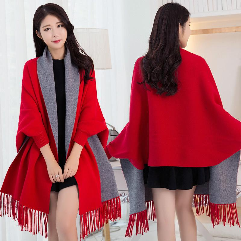 ladies capes with sleeves