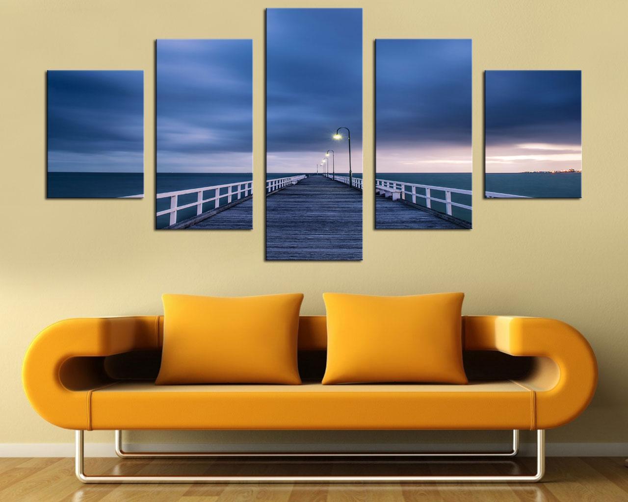 acheter original new home decor art hd impression paysage peinture À