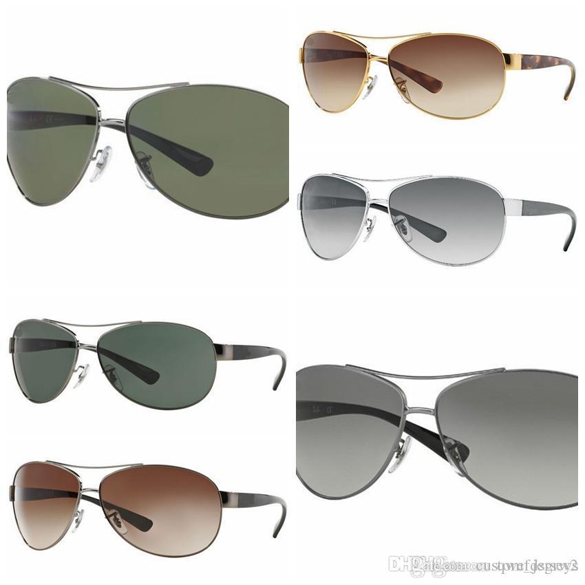 3f81d1e96135 2018 Excellent Quality 3386 Ray Aviator Sunglasses Bans Frame Glass ...