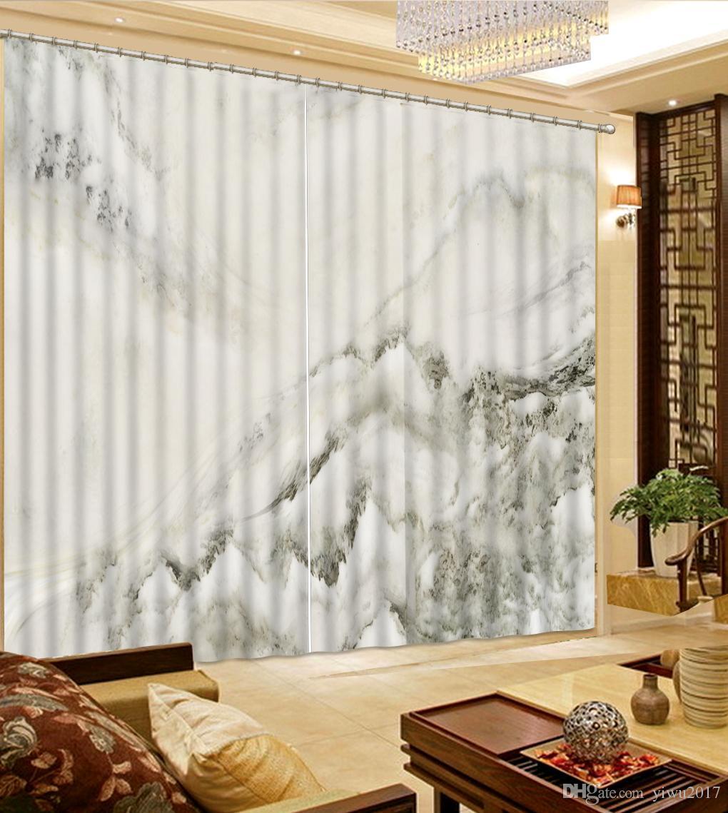 Großhandel 3D Vorhänge Marmor Blackout Europäischen Stil Vorhänge  Wohnzimmer Schlafzimmer Hotel Vorhang Fenster Jalousien Von Yiwu2017,  $200.0 Auf ...