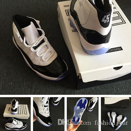 fe5e7c767b3d 11s Concord with 45 Number Man Basketball Shoes with Box Sneaker ...
