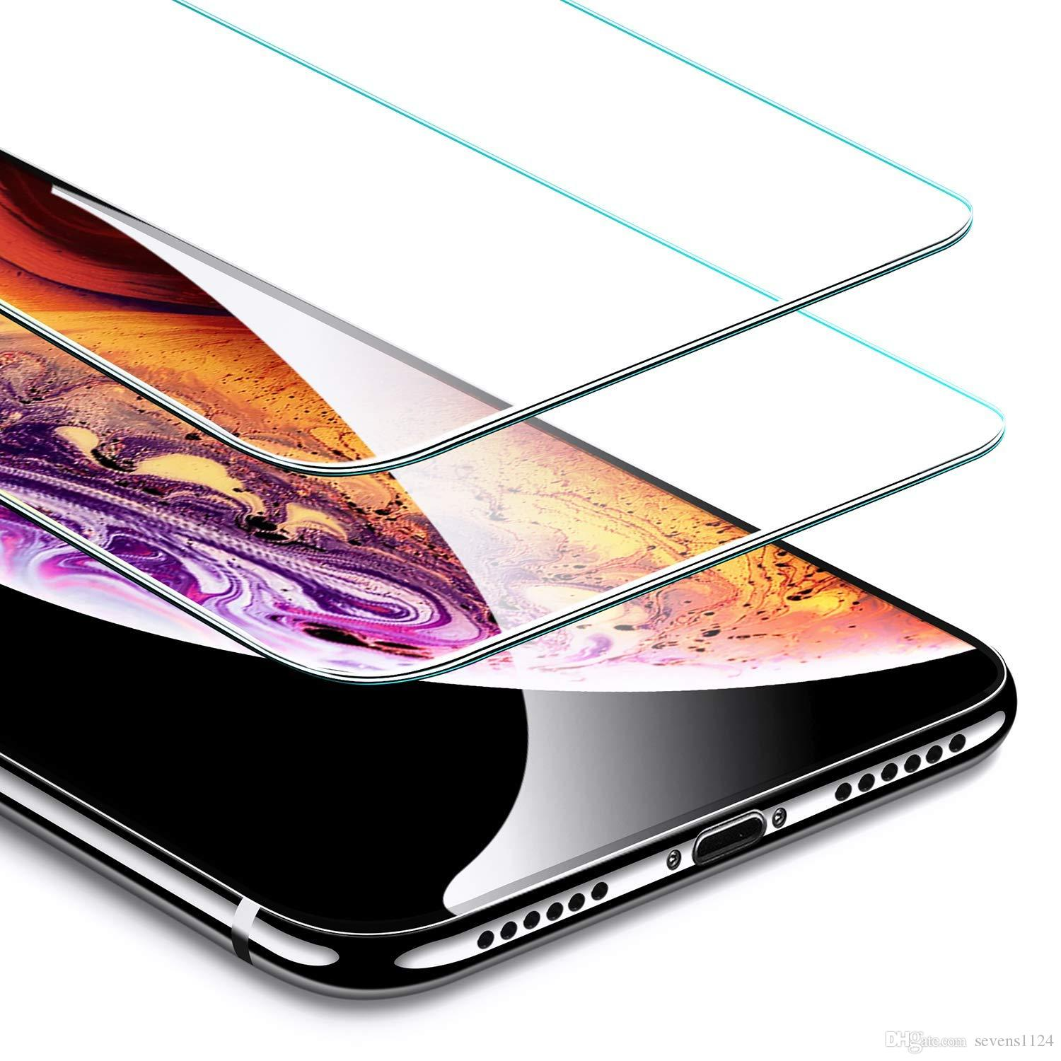 S Mart Tempered Glass Screen Protector Cover Flim for New Iphone X XS Max XR 9H 2 5D Rremium Quality Tempered Glass for Iphone Iphone Screen Protector