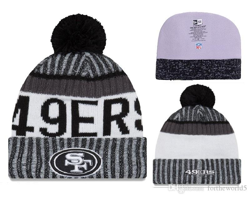 68122810444 2018 New Arrival HOT SF Knit Beanie Wool Caps Team Sports PATRIOTS ...