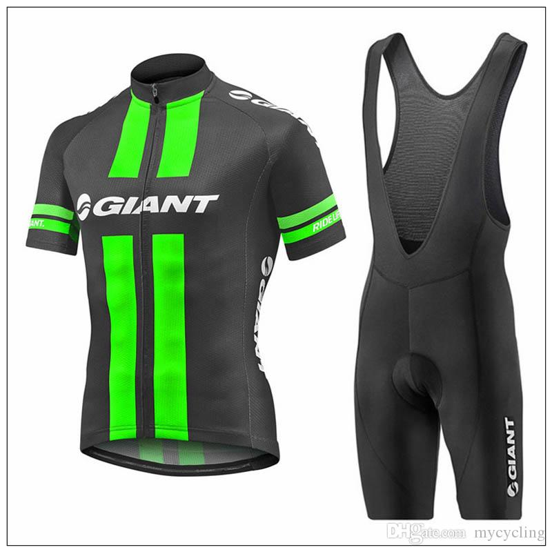 Giant Cycling Jersey Set 2018 Summer Short Sleeve Breathable Maillot Ropa  Ciclismo MTB Bicycle Sportswear Mountain Bike Clothing F2730 GIANT Cycling  Jersey ... 4e2be2902