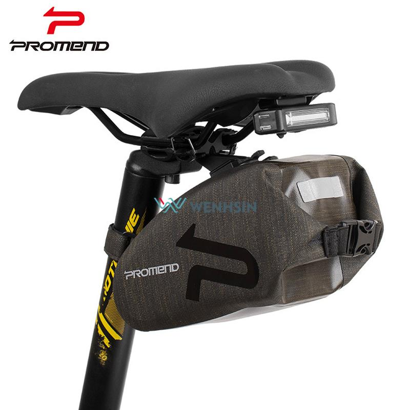 Promend Folding Bike Bag Bicycle Cover Saddle Tail Seat Waterproof Storage Frame Bags Cycling Mtb Rear Pack Panniers Accessories