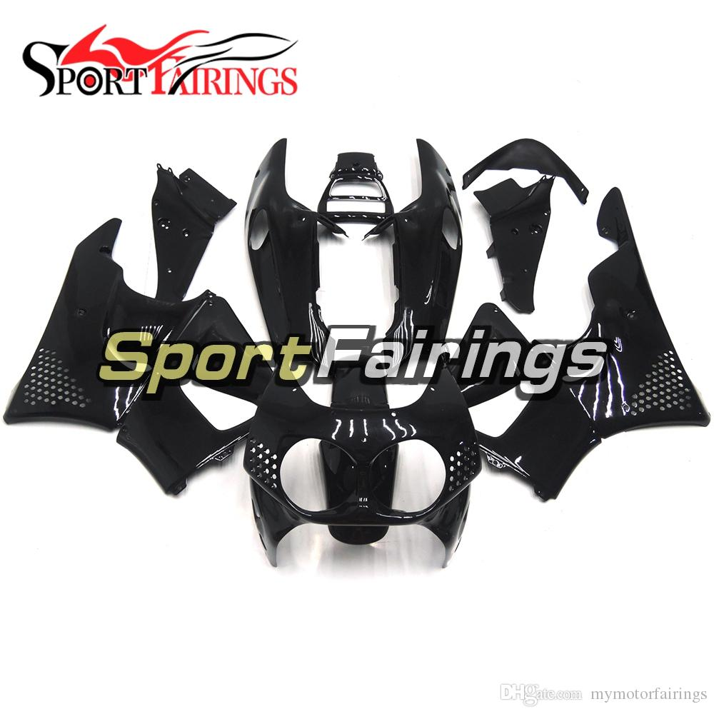 Complete Pure Gloss Black Fairings For Honda CBR900RR CBR893RR 893 1992 1993 ABS Motorcycle Fairing Kit Bodywork Motorbike Cowlings