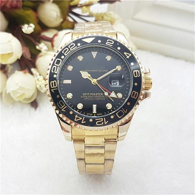 d26f8350f56 New Designer Men s Watches Top Luxury Quartz Watches GMT 4 Needle ...