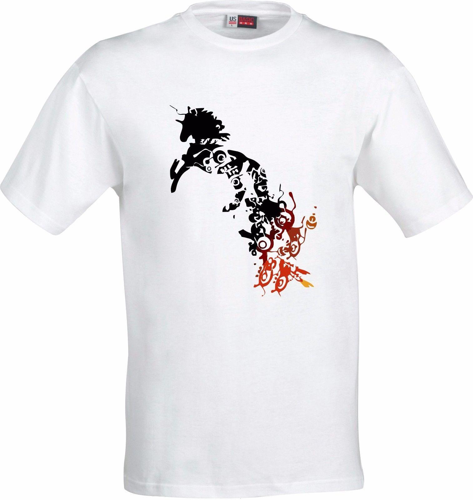 URBAN GRAFFITI UNICORN CHRISTMAS GIFT BIRTHDAY FULL COLOR SUBLIMATION T SHIRT Slogan Shirts Vintage Shirt From Xm24tshirt 1205