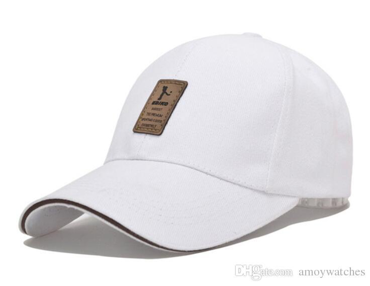 4709dd8b373 Baseball Cap Men s Adjustable Cap Casual Leisure Hats Solid Color Fashion  Snapback Summer Fall Hat Joker Fashion Baseball Cap Leisure Hat Adjustable  Hat ...