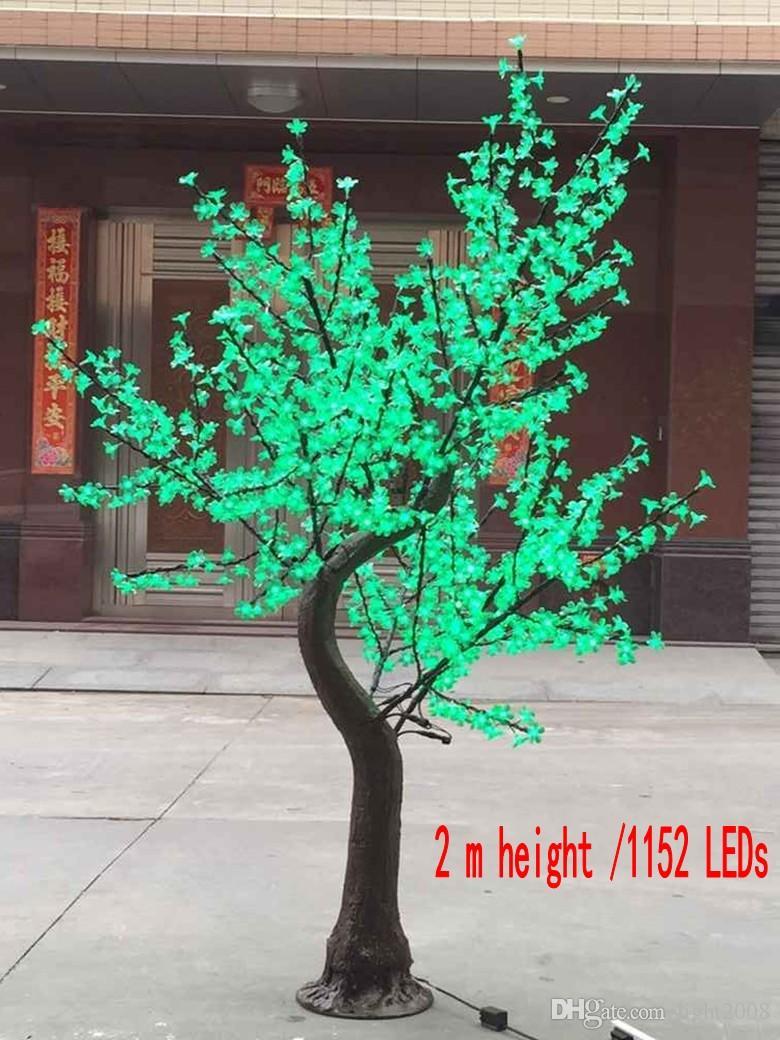 Lâmpada de cerejeira LEVOU flor árvore 1.5 ~ 2.5 metros de altura simulação de decoração de casamento decoração do jardim de iluminação natural tronco decoração do jardim