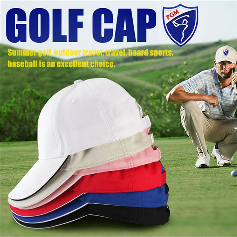 151e78cc51e Cotton Sunscreen Caps PGM Golf Hat Comfortable Breathable Hats Solid ...