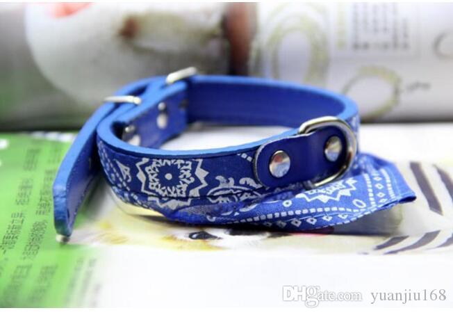 1.5 triangular scarves, PU leather belts, dog scarves, scarves, accessories, dog necklaces, and water towels, L211