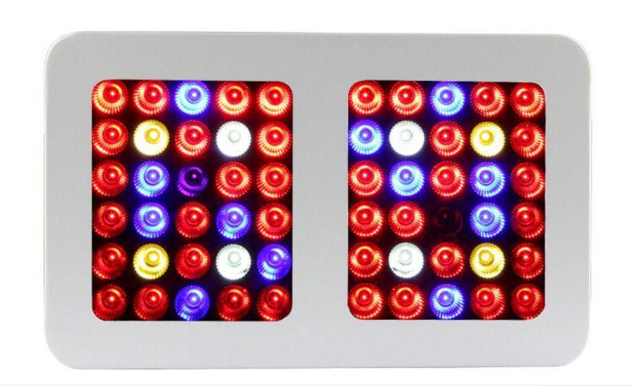 Полный спектр 1800 Вт 900 Вт 1200 Вт Сид растет свет двойной чип 10W для комнатных растений лампы гидропоники освещение высокой номинальной стоимости