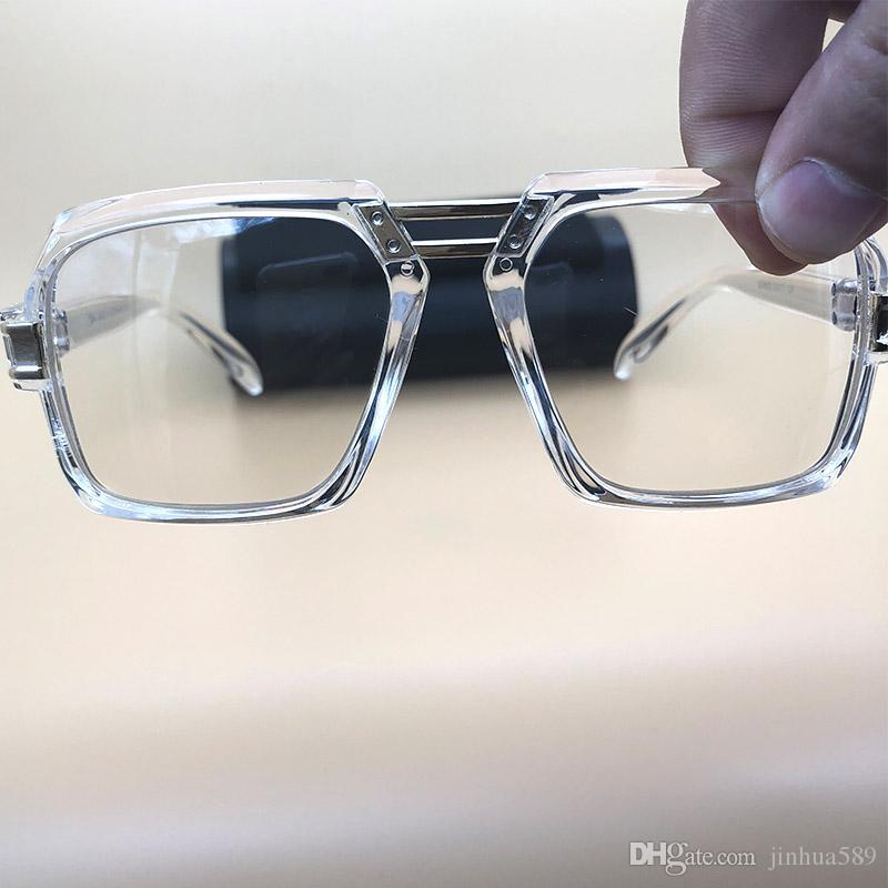 6db1dfdf0b Compre Gafas De Sol De Gama Alta Gafas De Protección Para Las Mujeres Gafas  De Marco Claro Gafas De Sol Vintage Gafas De Diseñador Para Hombre Oculos  De Sol ...