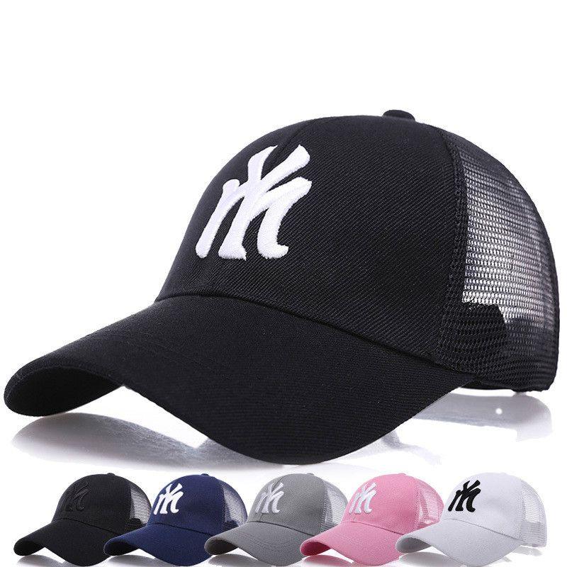 Summer Baseball Cap Embroidery Mesh Cap Hats For Men Women Gorras Hombre  Hats Casual Hip Hop Caps Dad Casquette 2018 UK 2019 From Li305302625 1ef4ccaf068a
