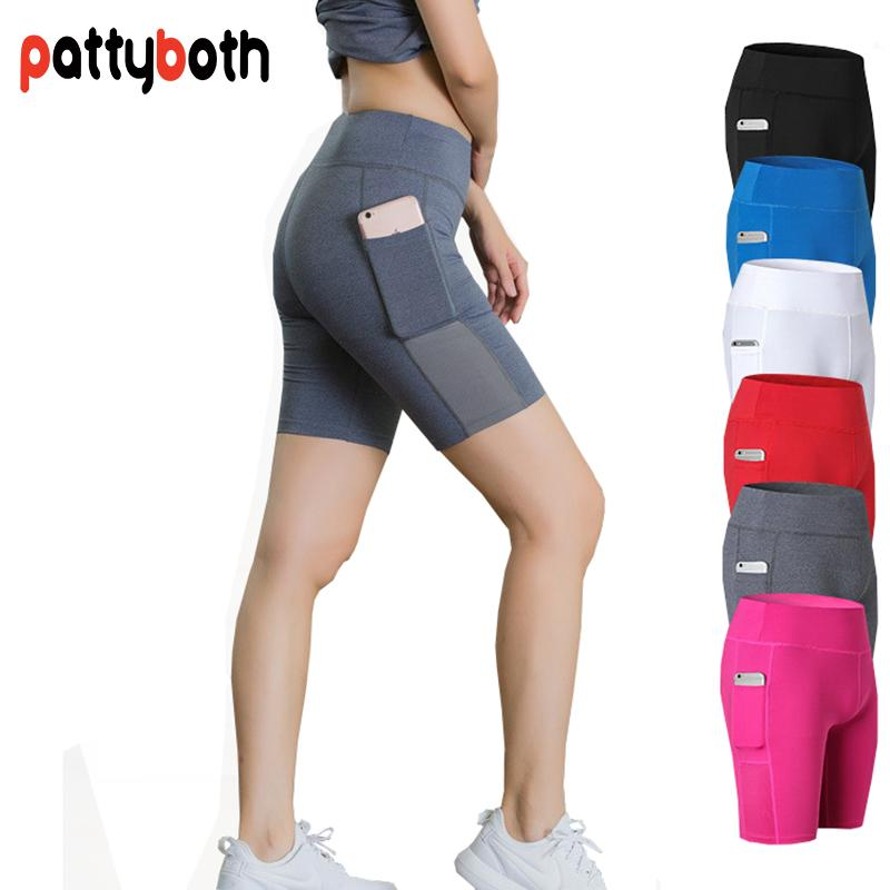 5bef43c758f5d 2019 Women S Compression Short Tights Base Layer Sportswear Quick Dry  Athletic Skinny Shorts Yoga Running Workout Fitness Shorts From Heheda5