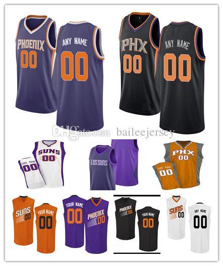 bd667cb5e3 Compre Personalizado Phoenix 20 Josh Jackson Camisa De Basquete Homens  Juventude Mulheres 100% Bordado Qualquer Número Qualquer Nome 1 Booker  Cidade Camisa ...