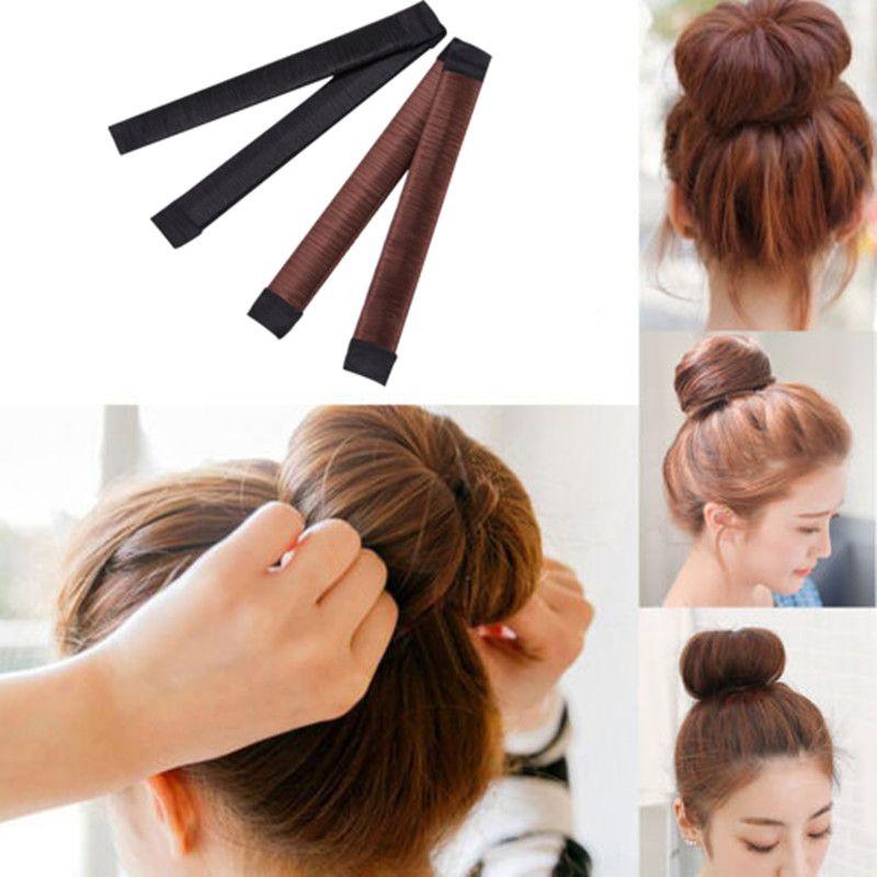 Women Girls Kids Magic Hair Styling Donut Bun Maker Former Twist