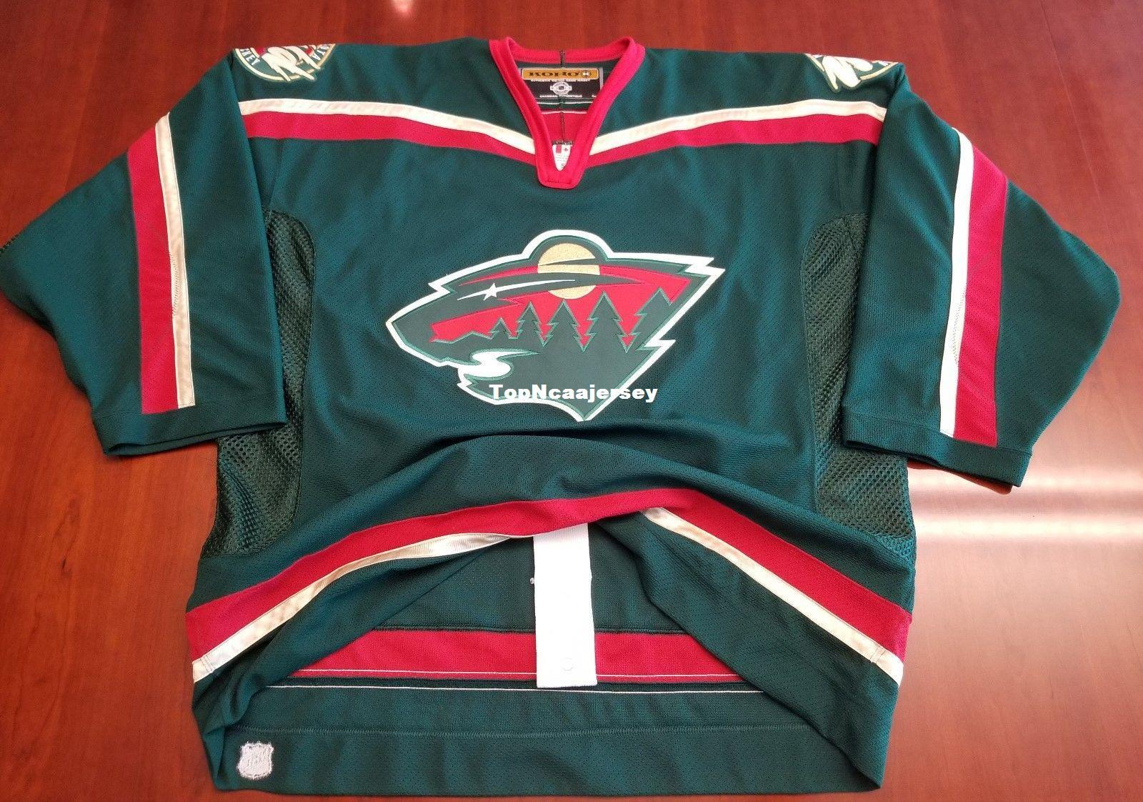 8e2af3158d4 2019 Wholesale Minnesota Wild Vintage Koho Center Ice Authentic Pro Cheap  Hockey Jersey Mens Retro Jerseys From Topncaajersey