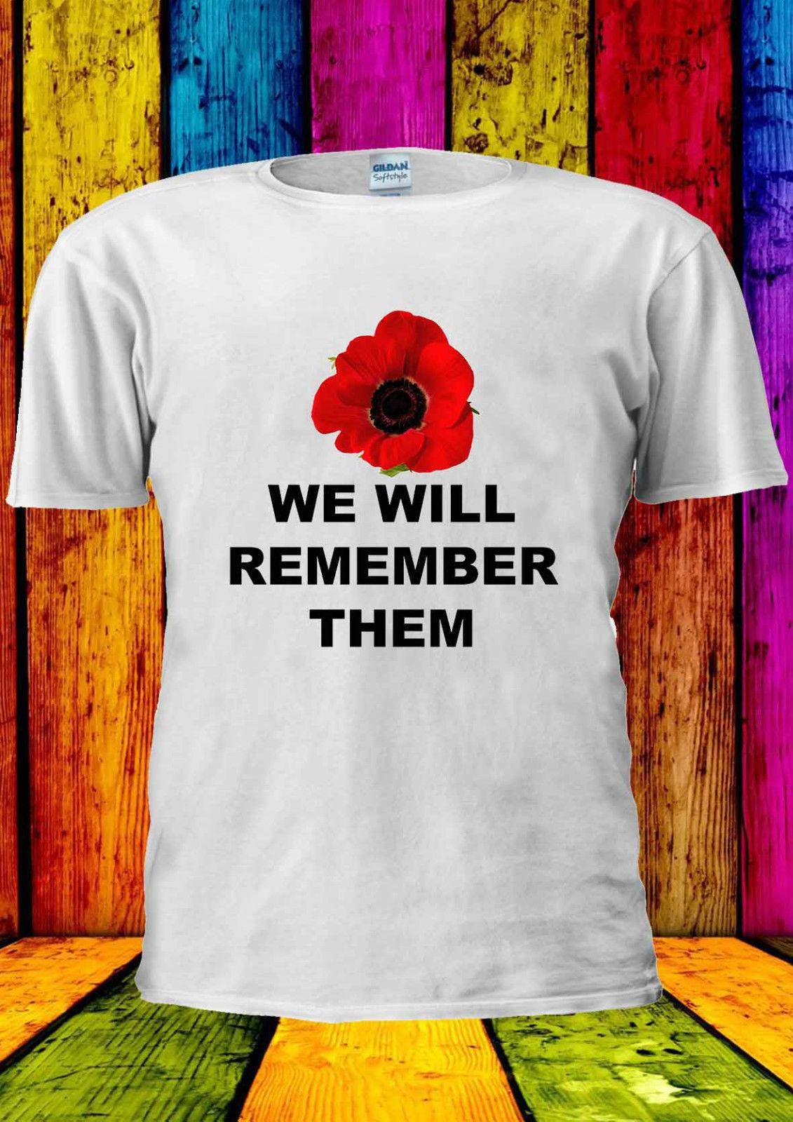 6e25c8dc5ad895 Poppy Day Remembrance Annual 8th T Shirt Vest Tank Top Men Women Unisex  2186 Cool Casual Pride T Shirt Men Unisex New T Shirt Designs Cool Shirts  From ...