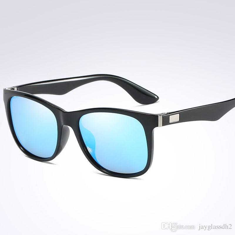 777dcc29f3 Compre Nuevas Gafas De Sol Polarizadas De La Llegada De Los Hombres Mujeres  De Conducción De Moda Gafas Polarizadas De Buena Calidad Gafas Cuadradas ...