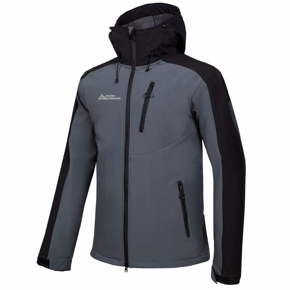 628fc76af0f8 Großhandel Mammoth Männer Wandern Trekking Camping Skifahren Herren  Windbreaker Herren Winter Softshell Fleece Jacken Outdoor Sportswear Mantel  Billig Neu ...