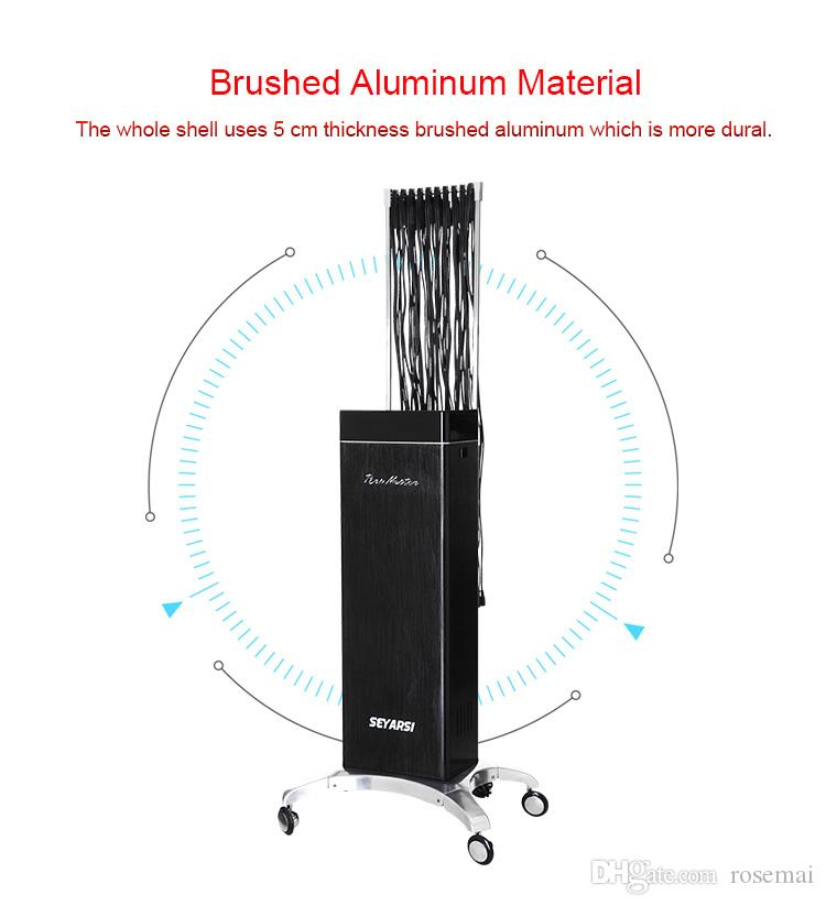 2017 New arrival remote controlled hair perm machine, salon use professional digital hair perm machine, Advanced Version TGblack