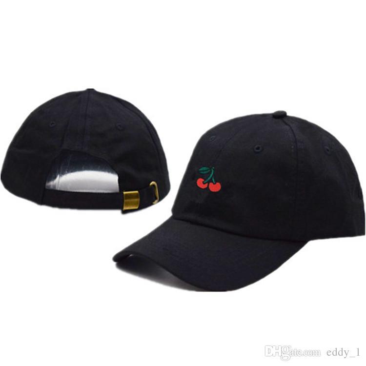 e0c3b3fd216 2018 New Arrival Dad Hat Leisure Fresh Fruit Cap Embroidery Hat Cherry  Orange Peach Baseball Cap Custom Hats Mens Hats From Eddy 1