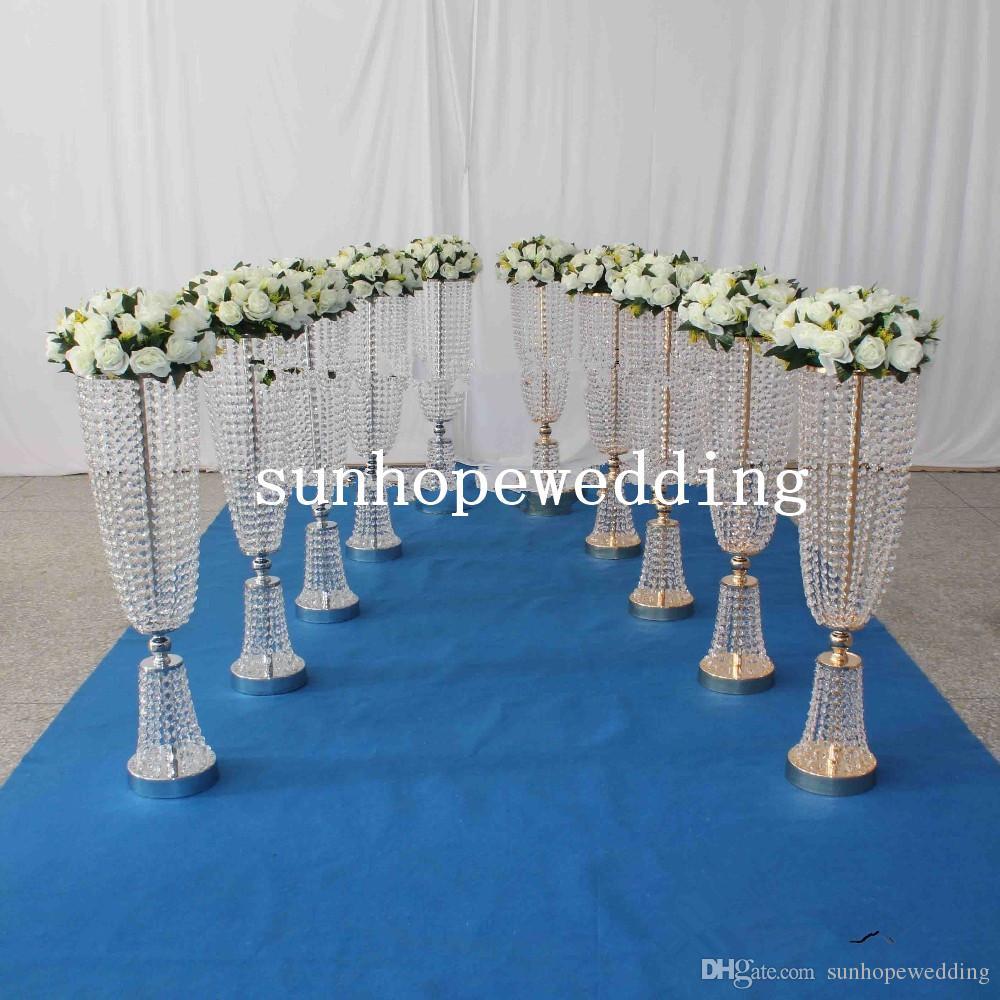 حار الزفاف الديكور الاكريليك الكريستال mandap مع الاكريليك لحفل زفاف الديكور المرحلة الحدث