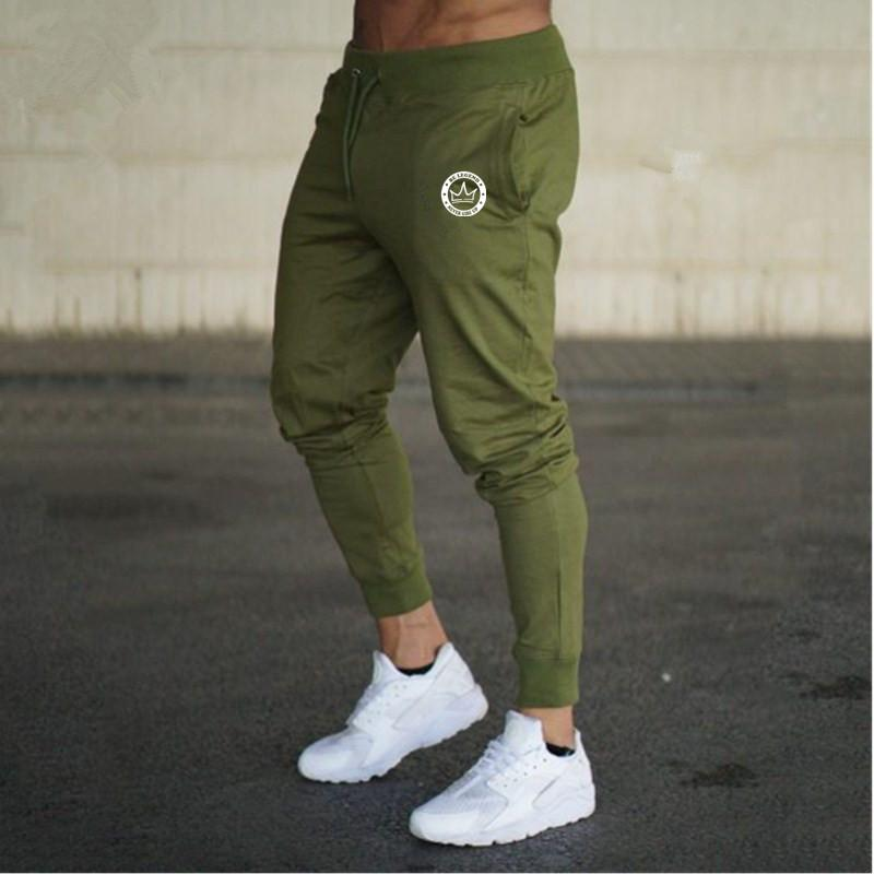 Acquista Nuovo Marchio Alphalete Pantaloni Da Uomo Casual In Cotone Elastico  Mens Palestre Fitness Workout Pantaloni Skinny Pantaloni Sportivi Pantaloni  ... 1d07aec9f7d