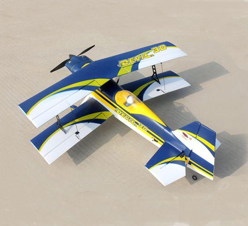 Dynam 1130MM Devil 3D RC PNP/ARF Propeller Plane W/ Motor ESC Servos W/O  Battery