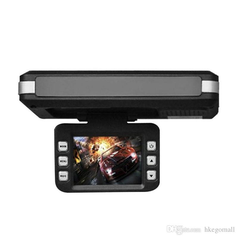 2in1 Araba DVR Radar Çizgi Kam Lazer Video Hız Dedektörü / GPS Araba Kamera Kayıt 140 Derece Yüksek Çözünürlüklü Çözünürlük: 1280x720