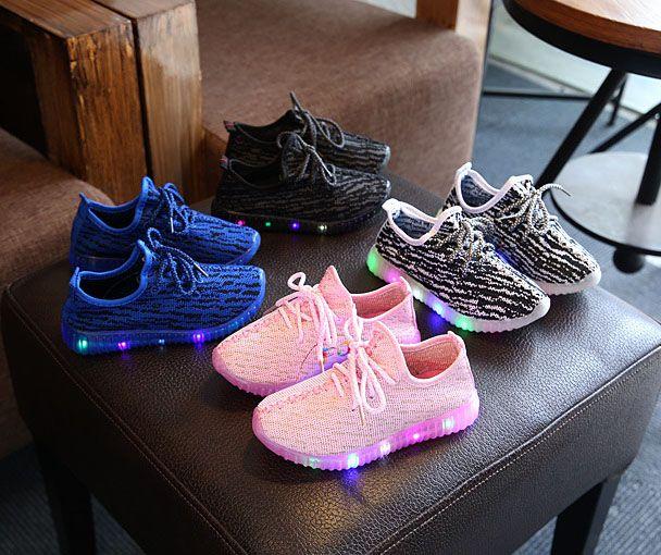 Grosshandel 2017 Kinder Schuhe Fur Kinder Leuchten Schuhe Jungen Mesh